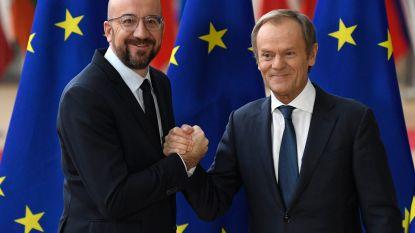 Charles Michel neemt voorzitterschap Europese Raad in handen