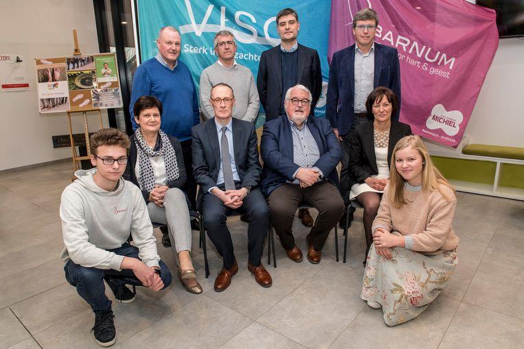 De directies van VISO, Barnum en Scholengroep Sint-Michiel gaan voluit voor een kwaliteitsvolle samenwerking tussen VISO en Barnum.