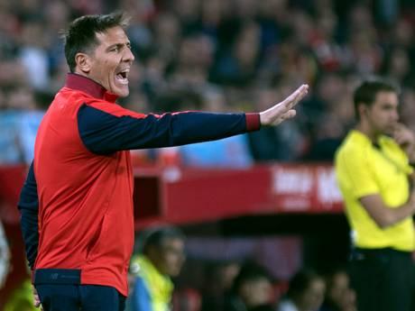 Trainer Berizzo na operatie terug bij Sevilla