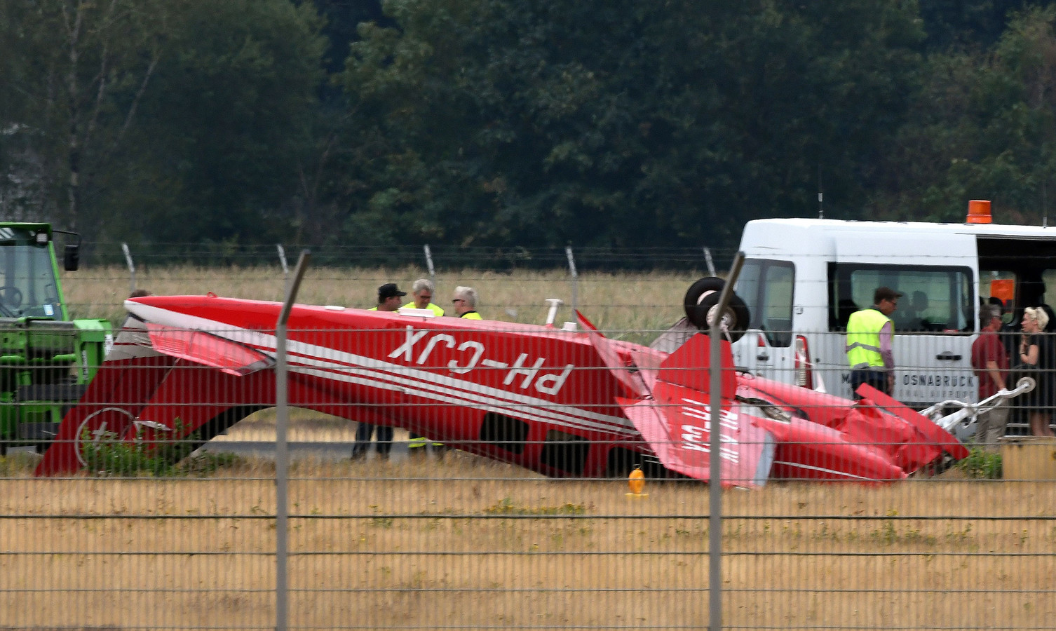 Twee personen kwamen donderdag om het leven bij een vliegtuigcrash in Münster. Een van hen was vastgoedman Bert Verwelius.