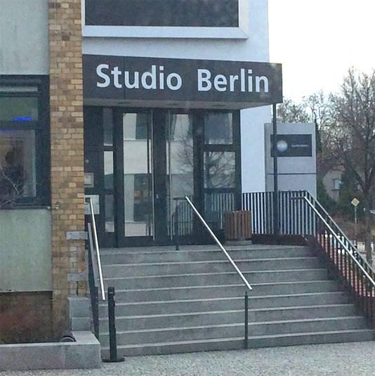 De studio waar The Voice Kids wordt opgenomen.