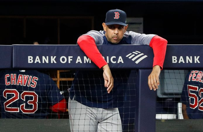 Red Sox-manager Alex Cora.
