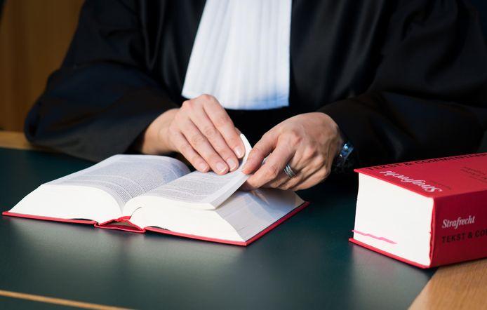 Een rechter. Foto ter illustratie.