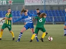 PEC Zwolle Vrouwen krijgen klop van ADO Den Haag
