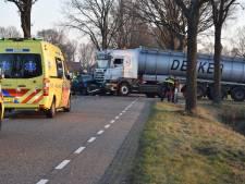 Zwaargewonde man met traumaheli afgevoerd na ongeval in Vriezenveen