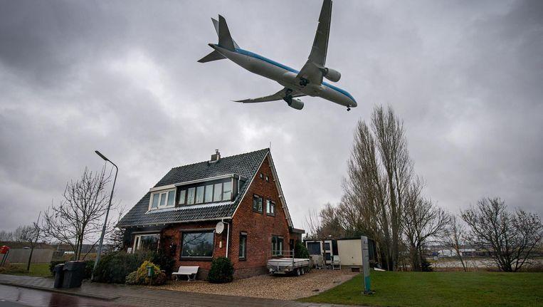Het aantal klagers over vlieglawaai is het afgelopen jaar circa 40 procent gegroeid. Beeld Hollandse Hoogte