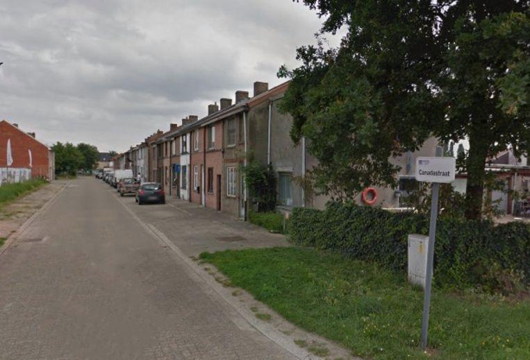 De Canadastraat in Hasselt, vlakbij het kanaal.