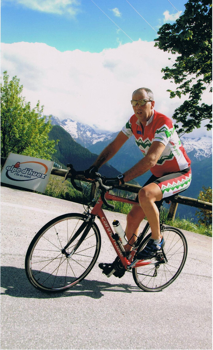 Martin Boonstra had voor de oprichting van Team Westland nog nooit op een racefiets gezeten.