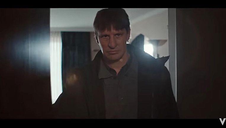Gijs Naber speelt Willem Holleeder in de serie Judas van Videoland en RTL Beeld still
