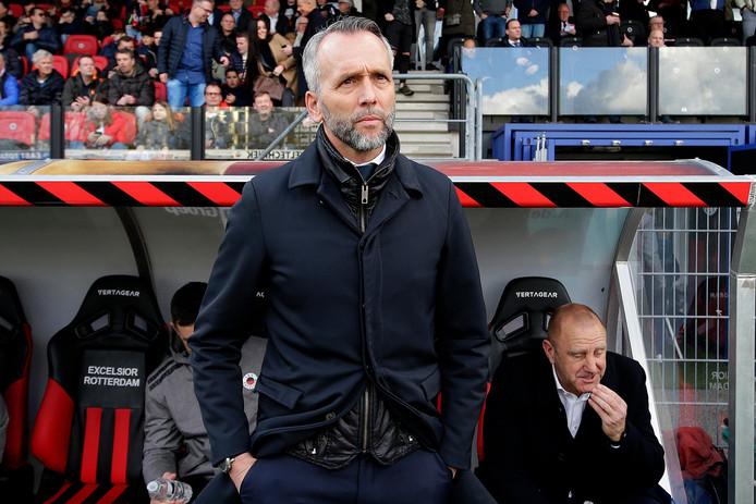 Excelsior-coach Adrie Poldervaart.
