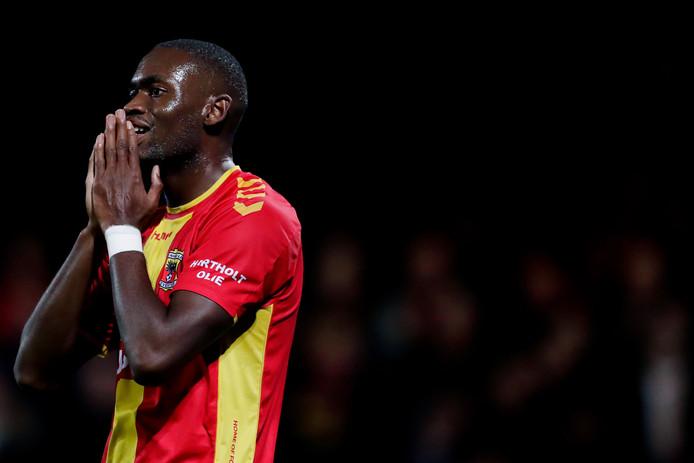 Maecky Fred Ngombo kan nog niet imponeren bij Go Ahead Eagles