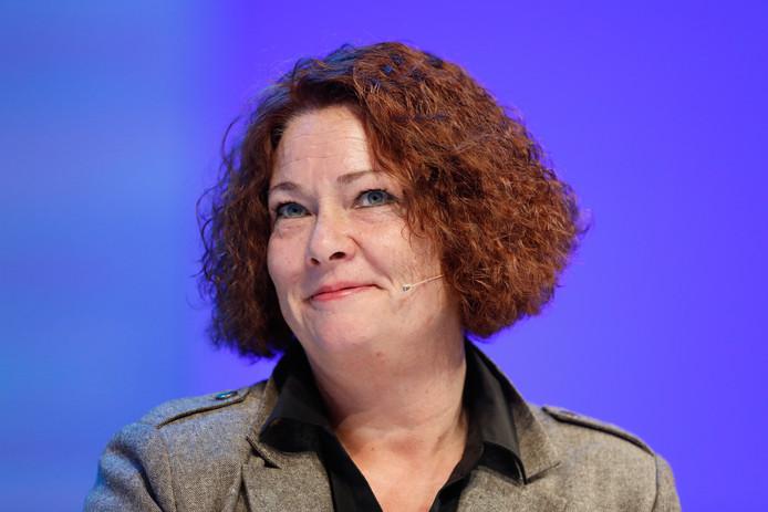 Lijsttrekker Karen Gerbrands van de PVV.