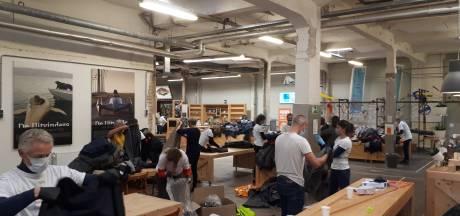 Warme jassenactie van 'betrokken ondernemers' in Breda levert 775 jassen op