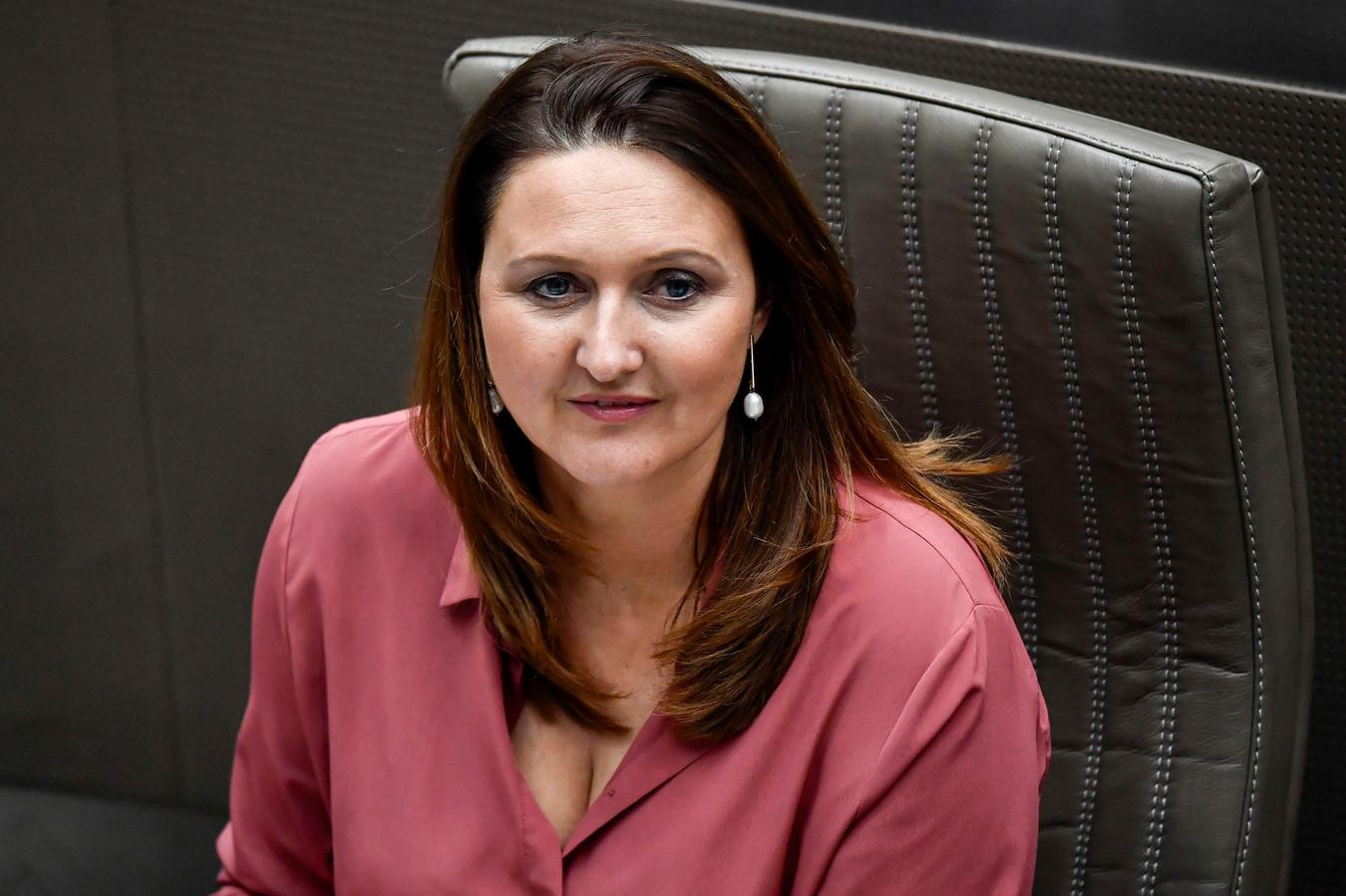 La présidente de l'Open Vld, Gwendolyn Rutten.