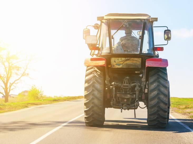 In grensregio hebben tractors al een kenteken