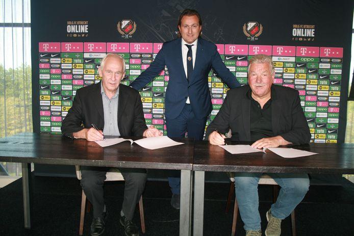 Schoonderbeek ondersteunt talenten van FC Utrecht en de G-voetbalafdeling.