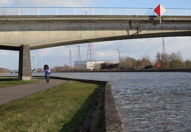 De brug in Langvoort.