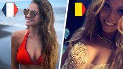 Op het WK van de WAG's is België wel wereldkampioen dankzij finalezege van ex-Miss België tegen ex-Miss Côte d'Azur