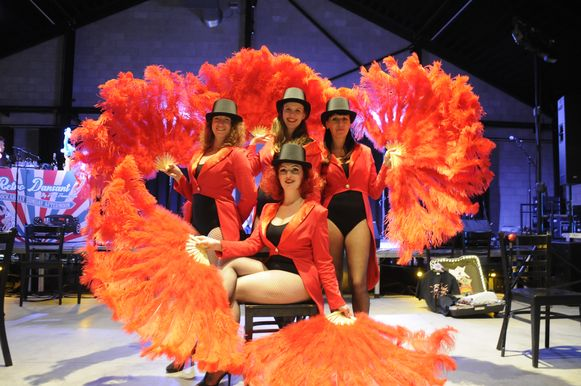 De Sweet Cherry Dolls (Kortenaken) gaven een heel gesmaakt optreden.