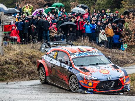 Suspense à Monte-Carlo, Neuville à six secondes du leader