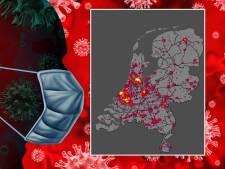 Hoe ontwikkelt het coronavirus zich in jouw omgeving? Check het hier