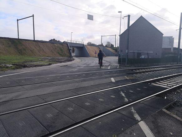 De spoorwegtunnel is weer open voor het verkeer.