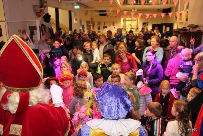 Sinterklaas in Schadewijk Oss.