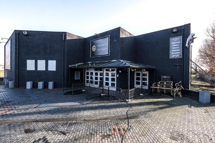 Discotheek Club Déjàvu aan de Anholtseweg in Dinxperlo.