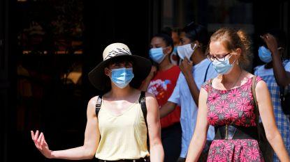 LIVE. Gemiddeld meer dan 601 nieuwe besmettingen per dag