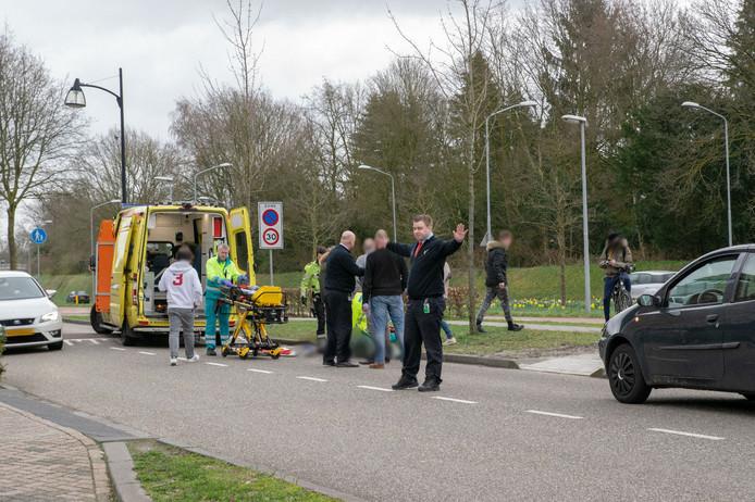Fietser gewond na val in Goirle