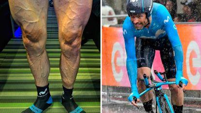 """""""Klaar voor de oorlog"""": Giro-renner maakt indruk met foto van afgetrainde benen"""