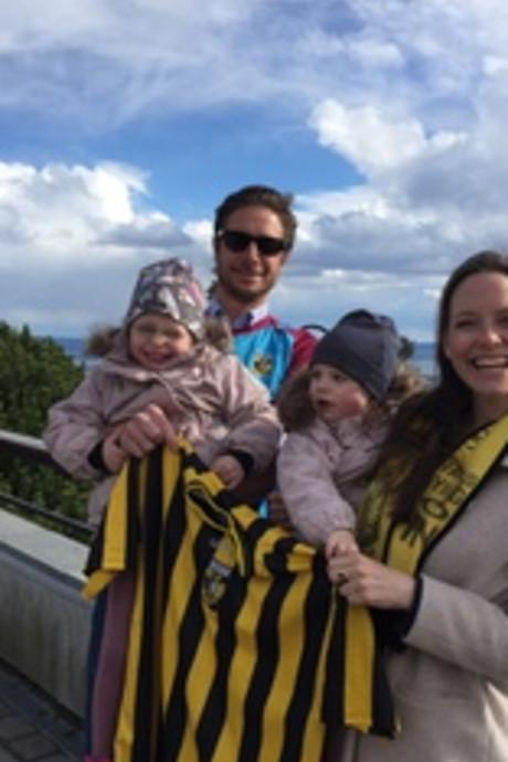 Vitesse-fan van Noorwegen naar Rotterdam: Ik moet in het stadion zijn