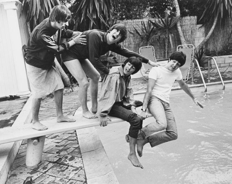 Muziek: De vroege Beatles Beeld getty