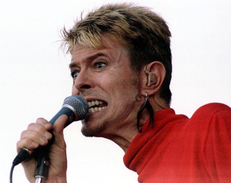 David Bowie in 1997. Beeld reuters