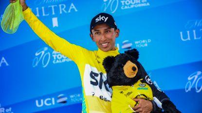 Egan Bernal herovert met tweede ritzege leiderstrui in Ronde van Californië