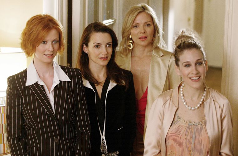 Cynthia Nixon, Kristin Davis, Kim Cattrall en Sarah Jessica Parker.
