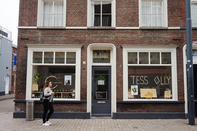 City Massage aan de Willem II-straat.