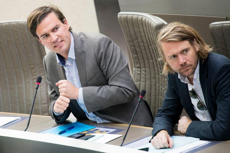 Mathias De Clercq en Jean-Jacques De Gucht, respectievelijk lijsttrekker in Gent en in Aalst.