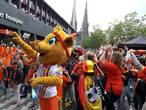 Fanwalk Nederland - België trekt duizenden supporters