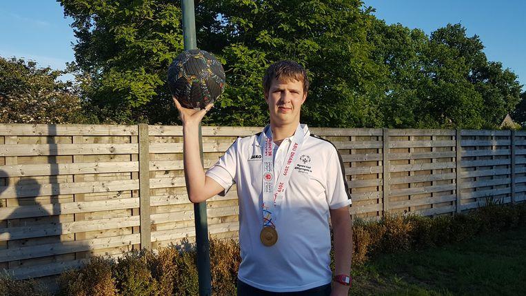 Jonas hoopt opnieuw op een gouden medaille.