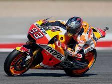 Márquez heerst op het circuit in Austin