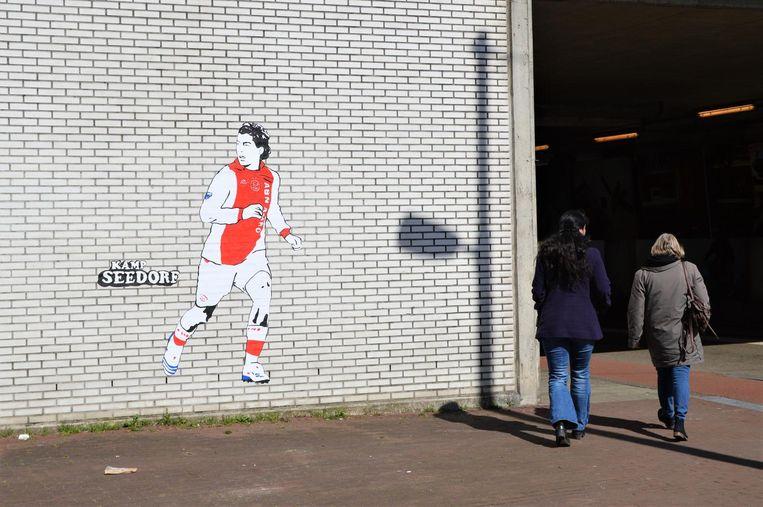 Voetballer Luis Suárez Beeld Kamp Seedorf