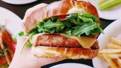 Belgische primeur: een échte hamburger, maar zonder vlees