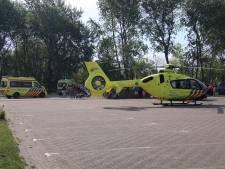 Mountainbiker (55) raakt zwaargewond bij valpartij in het bos bij Burgh-Haamstede
