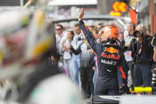 Max Verstappen pakt derde plek op het circuit van Spa-Francorchamps tijdens de Grand Prix van Belgie