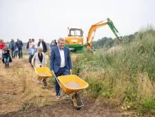 Generatietuin in Wierden komt langzaam tot leven