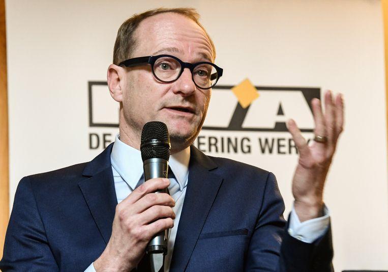 Vlaams minister van Mobiliteit Ben Weyts (N-VA)