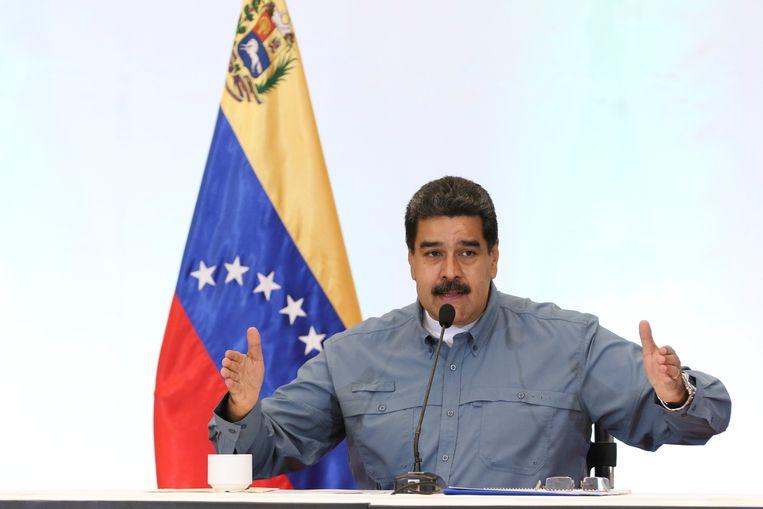 De Venezolaanse president Maduro.