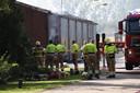 De brand in Sint-Oedenrode.