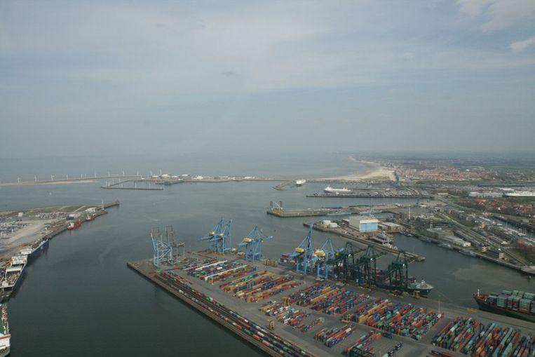 Zeebrugge haven archief